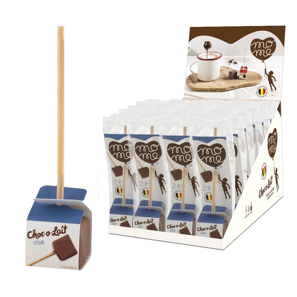milk chocolate sticks